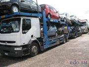 Доставка легковых автомобилей из Санкт Петербурга и Москвы