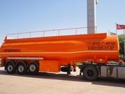 Полуприцеп бензовоз-цистерна Nursan 40 м3