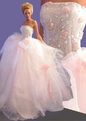 Продам красивое свадебное платье модельера Оксаны Мухи